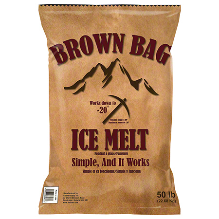 Kissner Brown Bag™ Ice Melt - 50 lb. Bag