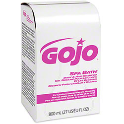 GOJO® Spa Bath® Body & Hair Shampoo - BIB 800 mL