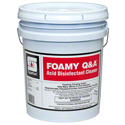 Spartan Foamy Q & A® Acid Disinfectant Cleaner - 5 Gal.
