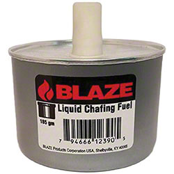 Blaze® Liquid Chafing Fuel w/Twist Cap, Pre-Set Wick -6 Hr