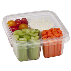 """Fabri-Kal® Greenware® On-The-Go 6"""" Square Lid"""