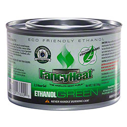 FancyHeat® Ethanol Green™ Chafing Dish Fuel - 2.5 Hour