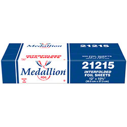"HFA® Medallion Interfolded Foil Sheets - 12"" x 10 3/4"""