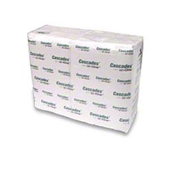 "Cascades ServOne™ Interfold Napkin - 12.6"" x 8.5"", White"