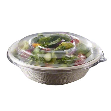 Sabert® Clear High Dome Lid For 24/32/48 oz. Round Bowl