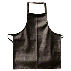 Update Vinyl Bib Apron - Brown Leatherette Finish