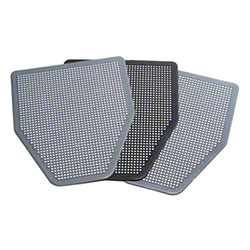Absorbcore SaniPro Disposable Urinal Mat - Grey, No Aroma