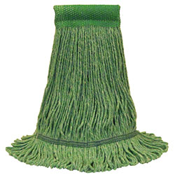 O Cedar® Premium™ Loop-End Mop - Large, Wide, Green