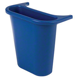 Rubbermaid® Wastebasket Recycling Side Bin - Blue