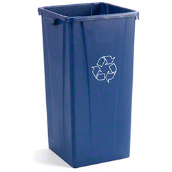 Carlisle Centurian™ Square Tall Recycling Waste Container