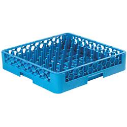 Carlisle OptiClean™ Tall Peg Plate & Tray Rack - Blue