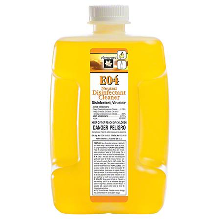 elements™ E04 Neutral Disinfectant/Cleaner - 3 L PFD