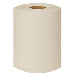Y-Notched White Roll Towel - 800'
