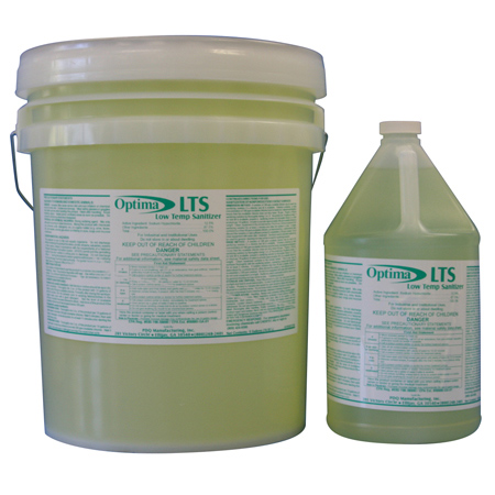 LTS Low Temp Liquid Chlorine Sanitizer - 5 Gal.