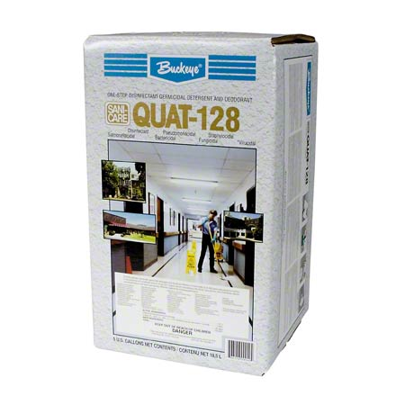 Quat 128 Disinfectant Cleaner Gal 4/cs