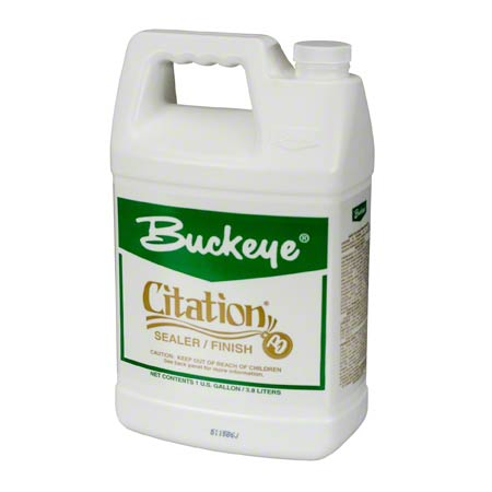 Buckeye Citation Floor Finish  & Sealer Gallon 4/cs