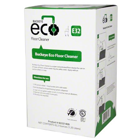 E32 Eco 1.25L Floor Cleaner  Fragrance Free 4/cs