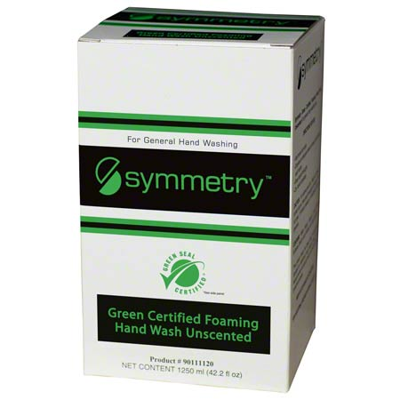 Symmetry Unscented Foaming Hand Soap 1250 ml Green Seal