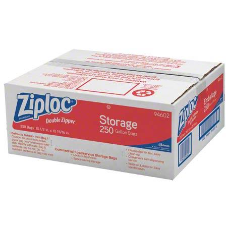 Ziploc 1 Gal Storage Bags 250/cs