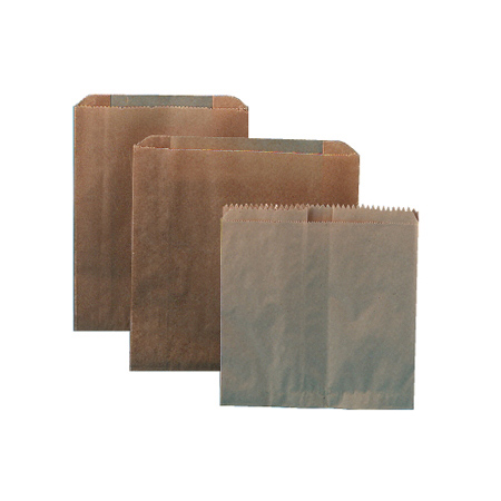 Liners Sanitary Waxed Kraft Paper Bag 500/cs Wall Units