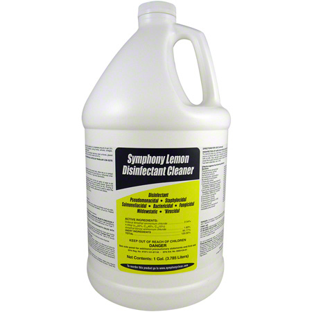 Symphony Lemon Disinfectant  Cleaner 4 gal/cs