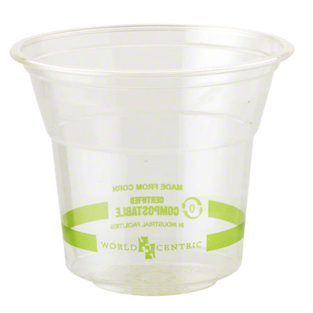 Cups 10 oz Clear Compostable