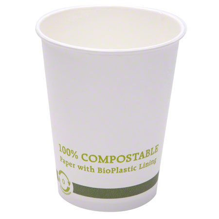 Cups 12 oz Hot Compostable