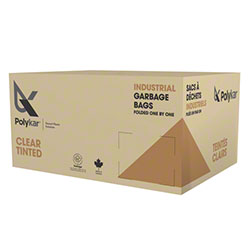 Polykar® Recycled Garbage Bag-42 x 48, 0.85 Gauge, Regular
