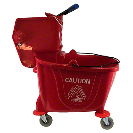 Better Brush 35 L Mop Bucket & Wringer - Red