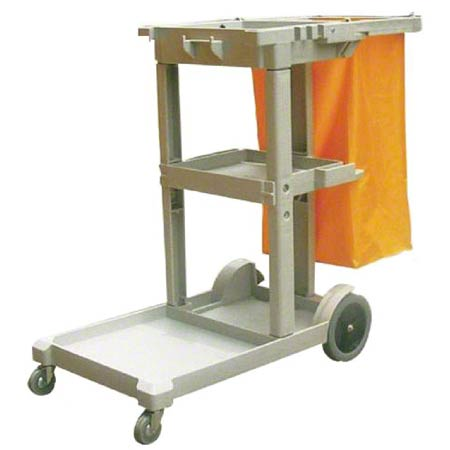 Better Brush Janitor Cart