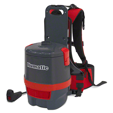NaceCare™ RSV150 Electric Backpack Vacuum w/ASTB2 - 6 Qt.
