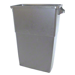 PRO-LINK® Thin Bin Container - 23 Gal., Gray