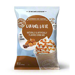 Big Train® Caramel Latte Blended Ice Coffee Mix - 3.5 lb.