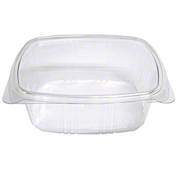 Koda Cup™ RPET Clear Hinged Lid Deli Container - 32 oz.