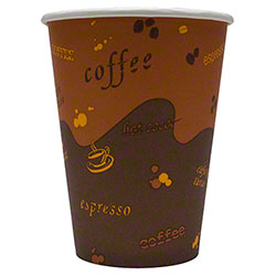 Karat® Stock Print Paper Hot Cups