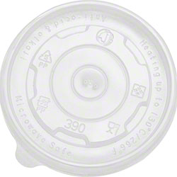 Karat® PP Flat Lid For 12 oz. Food Container