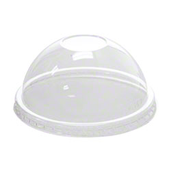 Karat® PET Dome Lid Fits 6 oz. & 10 oz. Paper Food Container
