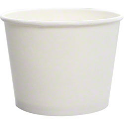 Karat® White Paper Food Containers
