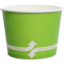 Karat® Green Paper Food Containers