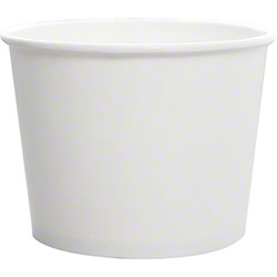 Karat® White Paper Food Container - 16 oz.