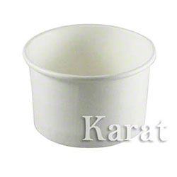 Karat® White Paper Food Container - 20 oz.