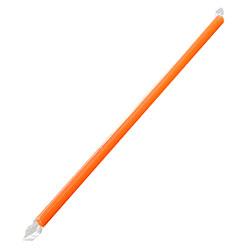 """Karat® Giant Wrapped Straw - 9"""", Orange"""