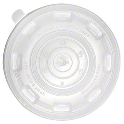 Karat® PP Flat Lid For 36 oz. Injection Molding Bowl