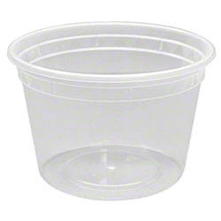Karat® PP Injection Molded Deli Containers w/Lids