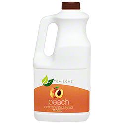Tea Zone® Concentrated Syrup - Peach