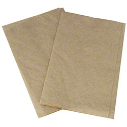 "Karat® Interfold Dispensable Napkin - 8"" x 6.5"", Kraft"
