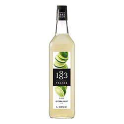 1883 Maison Routin Lime Syrup - 1 L