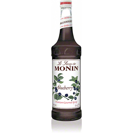 Monin® Blueberry Flavored Syrup - 750 mL
