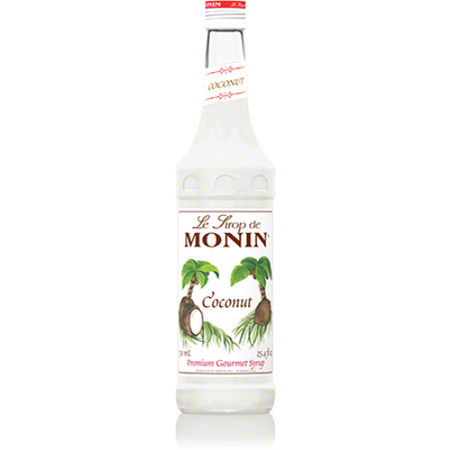 Monin® Coconut Flavored Syrup - 750 mL