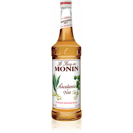 Monin® Macadamia Nut Flavored Syrup - 750 mL